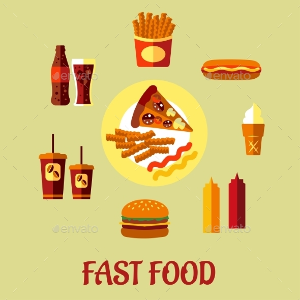 GraphicRiver Fast Food Poster 9527021