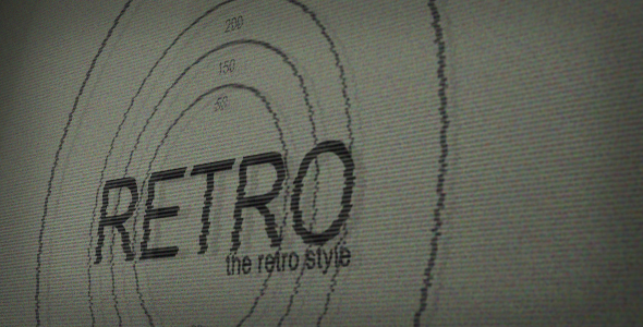 After Effects Project - VideoHive Retro 121638