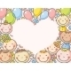 Heart-Shaped Frame with Kids - GraphicRiver Item for Sale