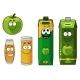 Apple Juice Cartoon - GraphicRiver Item for Sale