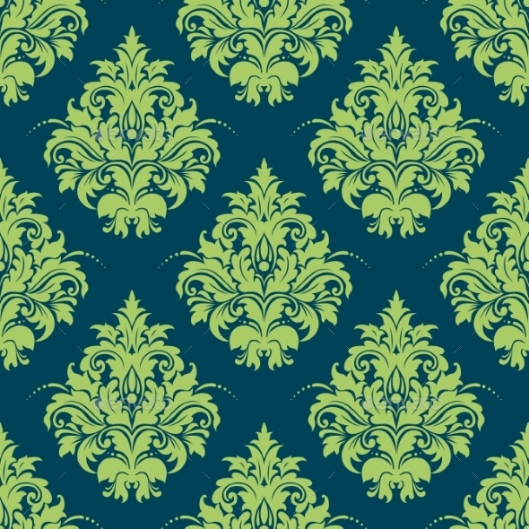 GraphicRiver Damask Pattern 9527177