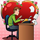 Man in Love Writing a Letter - GraphicRiver Item for Sale