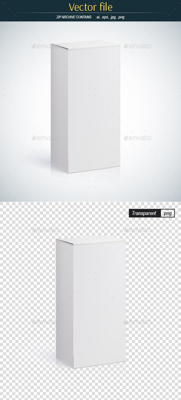 GraphicRiver Vertical Packing Box 9527203