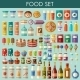 Food Set.  - GraphicRiver Item for Sale