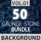 50 Grunge Stone Backgrounds Bundle Vol.1 - GraphicRiver Item for Sale