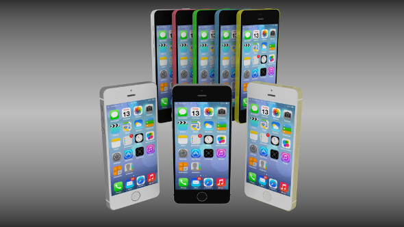 3DOcean Iphone 5 collection 9527804