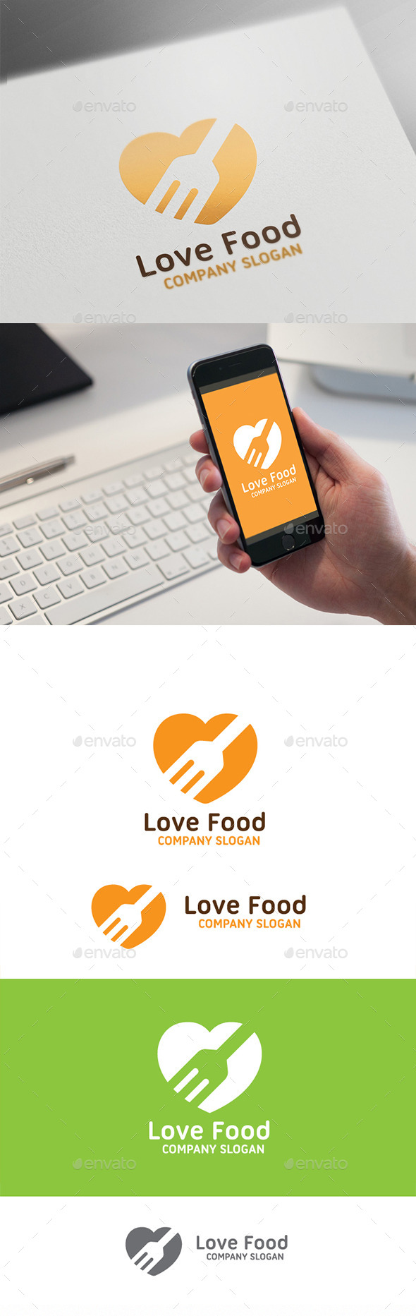 GraphicRiver Love Food 9527953