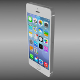 Iphone 5S silver - 3DOcean Item for Sale