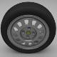 VW Golf Wheel - 3DOcean Item for Sale