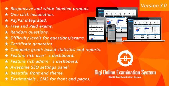 Digi Online Examination System DOES