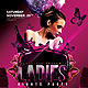 Ladies Nights Party   - GraphicRiver Item for Sale