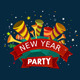 New Year Party Event Tittle - GraphicRiver Item for Sale