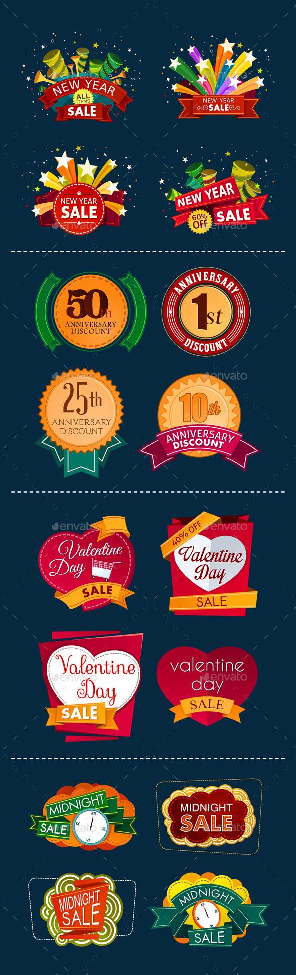 GraphicRiver Various Sale Event Tittle 9528935
