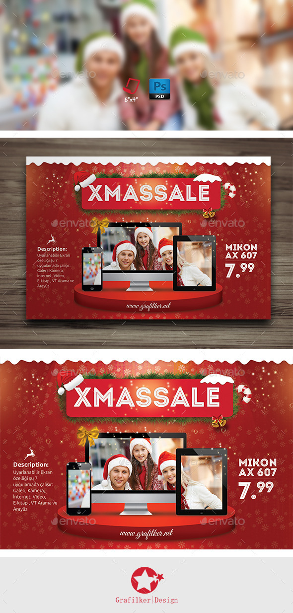 GraphicRiver Christmas Promotion Flyer Templates 9529060