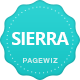 SIERRA.eBook - A Pagewiz Landing Page Template - ThemeForest Item for Sale