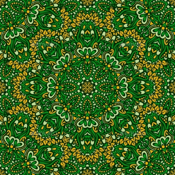 GraphicRiver Arabesque Seamless Pattern 9529263