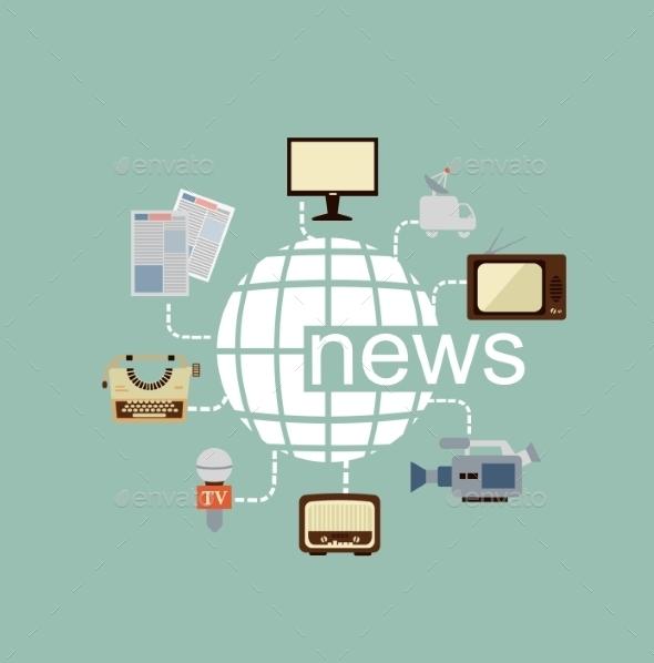 GraphicRiver Journalist Illustration 9529427