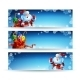 Banner with a Bag of Christmas Gifts - GraphicRiver Item for Sale