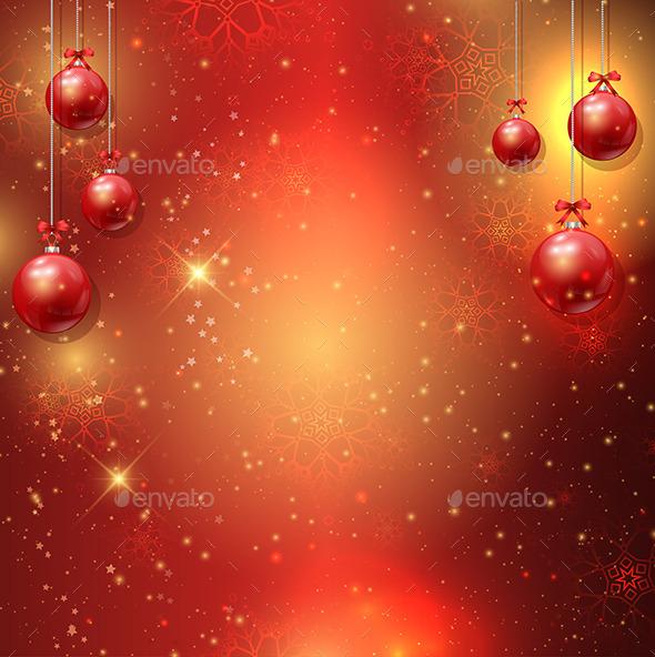 GraphicRiver Decorative Christmas Background 9529721