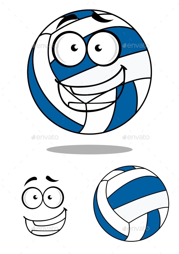GraphicRiver Cartoon Volley Ball 9529957