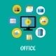 Office Icon - GraphicRiver Item for Sale