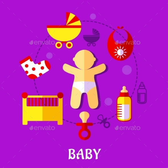 GraphicRiver Baby Design 9530027