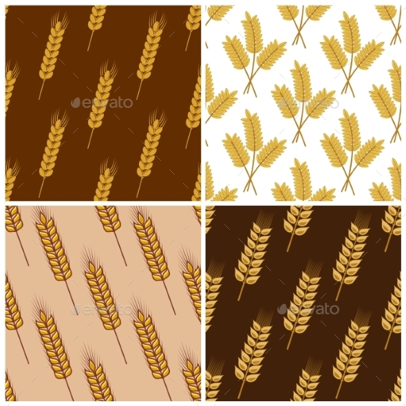 GraphicRiver Wheat Pattern 9530090