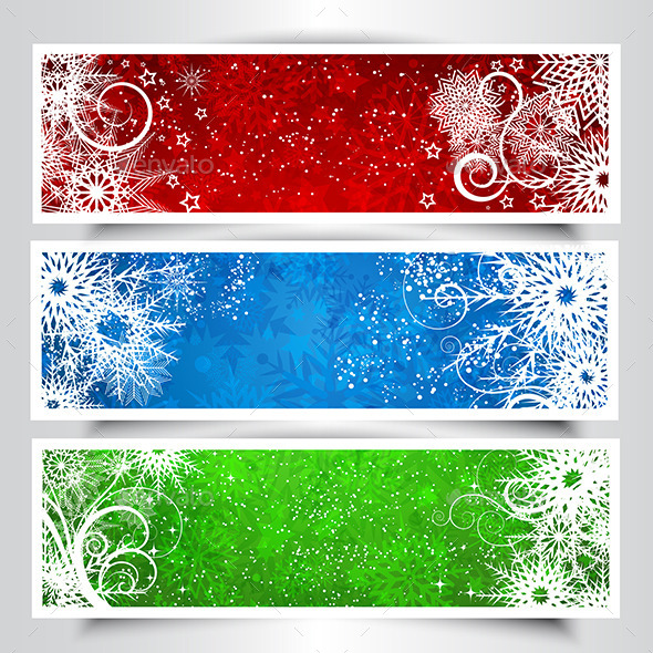 GraphicRiver Christmas Backgrounds 9530317