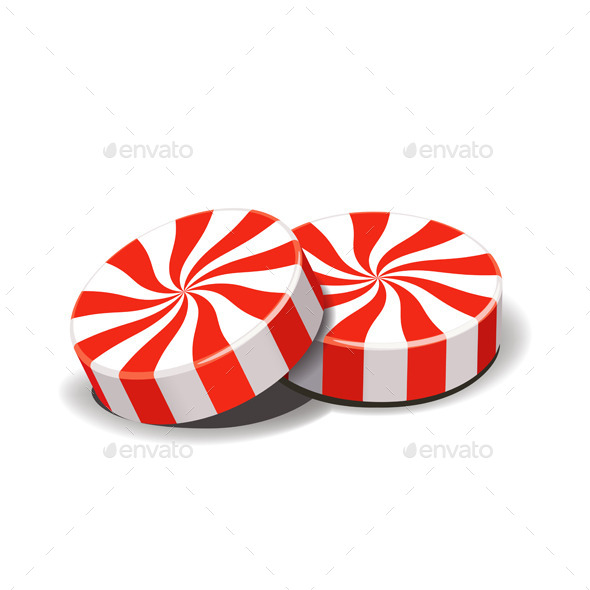 GraphicRiver Peppermint Candies 9530404