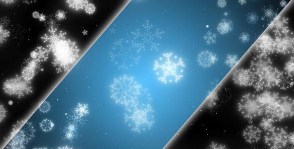 Evening Snowflakes