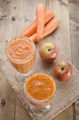 apple carrot smoothie in a glass - PhotoDune Item for Sale