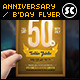 Anniversary / Birthday Flyer - GraphicRiver Item for Sale