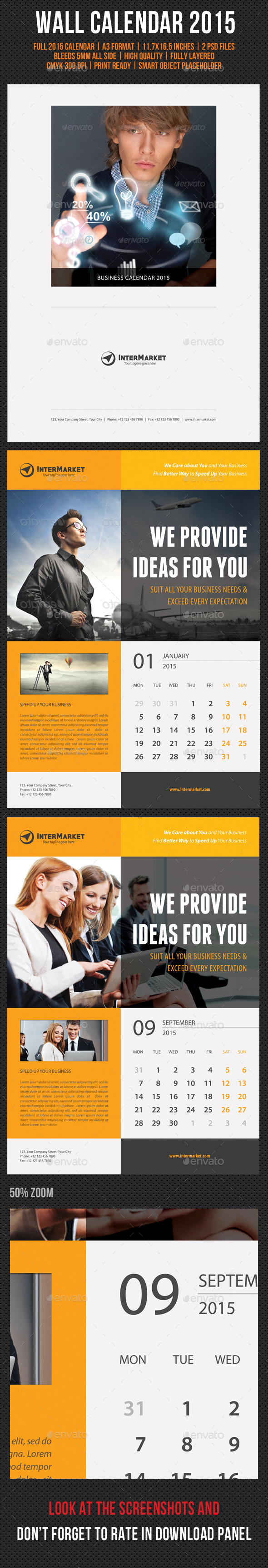 GraphicRiver Corporate Wall Calendar 2015 V01 9532595