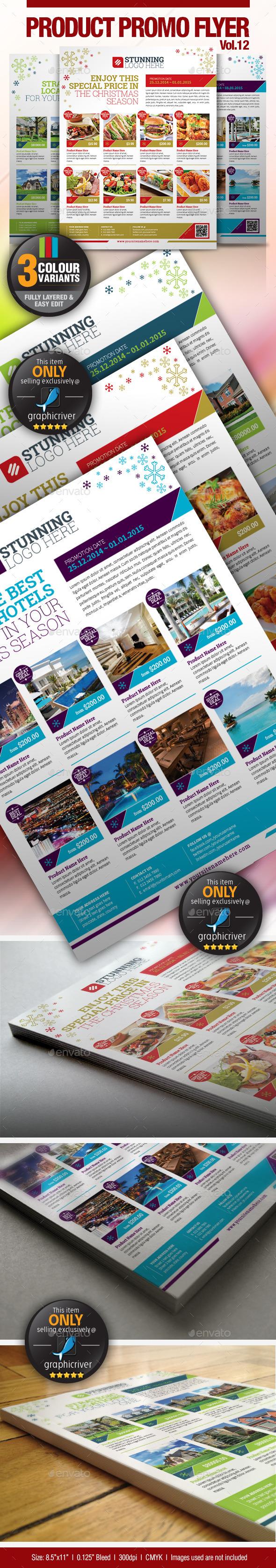 GraphicRiver Multi-Purpose Product Promotion Flyer Vol.11 9533125