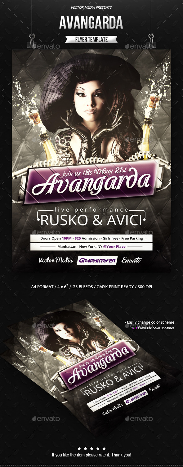 GraphicRiver Avangarda Flyer 9533385