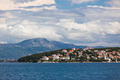 Ciovo island, Trogir area, Croatia view from the sea. - PhotoDune Item for Sale