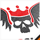 King Skull Logo - GraphicRiver Item for Sale