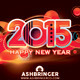 Good Wishes Happy New Year Card 2015 - GraphicRiver Item for Sale