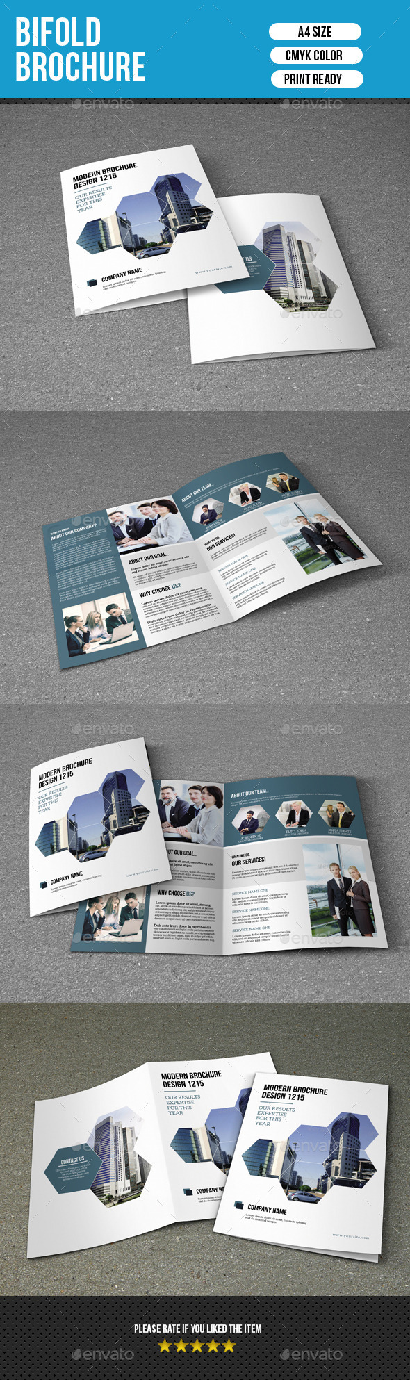 GraphicRiver Bifold Brochure for Business-V161 9534159