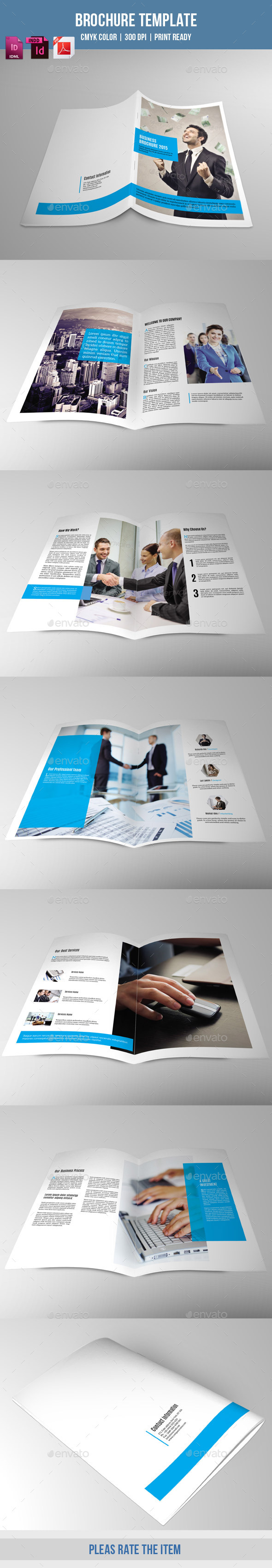 Bifold Brochure for Business-V162