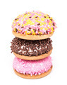 Marshmallow Cookies With Colorful Sugar Sprinkles - PhotoDune Item for Sale