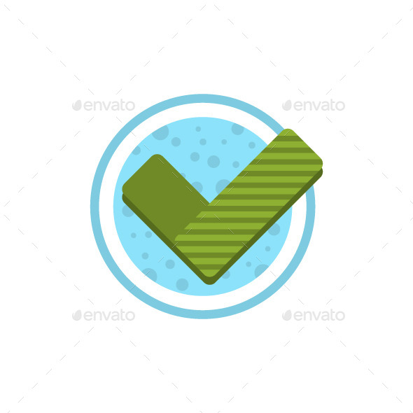 GraphicRiver Check Mark Flat Icon 9534852