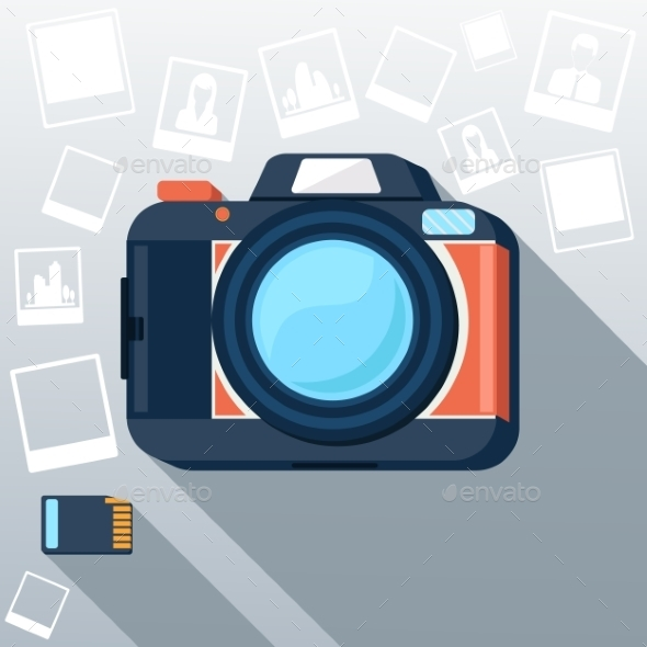 GraphicRiver Photo Camera 9534854