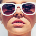 Beautiful young female face with sunglasses - PhotoDune Item for Sale