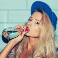 Sporty woman drinking water - PhotoDune Item for Sale