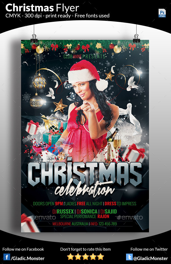 GraphicRiver Christmas Celebration Party 9534930