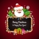 Christmas Banner with Santa Claus - GraphicRiver Item for Sale