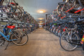 Public cycle parking garage central station - PhotoDune Item for Sale