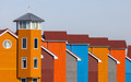 Row of Colorful Houses - PhotoDune Item for Sale
