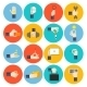 Hand Holding Objects Icons - GraphicRiver Item for Sale